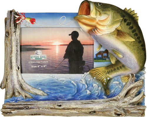 Fishing Frames - Bass Picture Frame - GrayGoose Products Limited