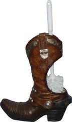 Cowboy Boot Toilet Brush & Holder - GrayGoose Products Limited
