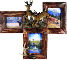 3 Picture Deer Firwood Frame - GrayGoose Products Limited