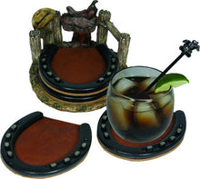 Horseshoe Coaster 4 Piece Set
