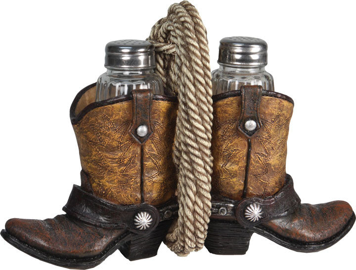 Salt & Pepper Shaker Set - Cowboy Boots - GrayGoose Products Limited