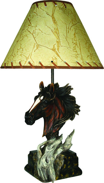 Table Lamp - Horse