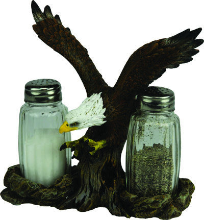 Salt & Pepper Shaker Set - Eagle