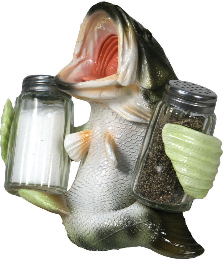Salt & Pepper Shaker Set - Bass - GrayGoose Products Limited