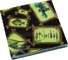 Fishing Themed Napkins 20ct - GrayGoose Products Limited
