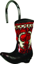 Cowboy Boot Shower Curtain Hooks - GrayGoose Products Limited