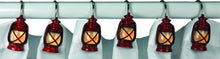 Lantern Shower Curtain Hooks - GrayGoose Products Limited