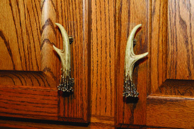 Antler Cabinet Pull R/L 2 pack - GrayGoose Products Limited