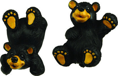 Black Bear Cabinet Knobs 2 Pack   GrayGoose Products Limited