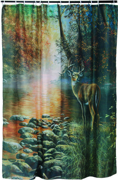 Deer Shower Curtain - GrayGoose Products Limited