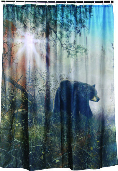 Bear Shower Curtain - GrayGoose Products Limited