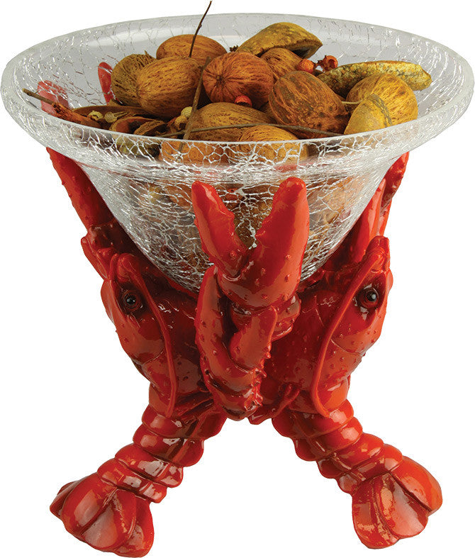 Crawfish Glass Dish - GrayGoose Products Limited
