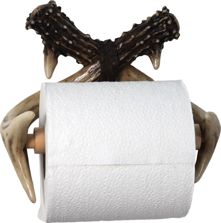 Deer Antler Toilet Paper Holder - GrayGoose Products Limited