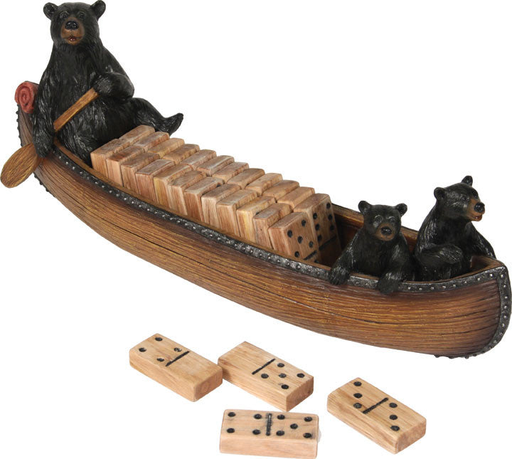 Dominos In Canoe Set - GrayGoose Products Limited