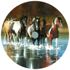 Copy of Lazy Susan - Rush Hour Horses 14""