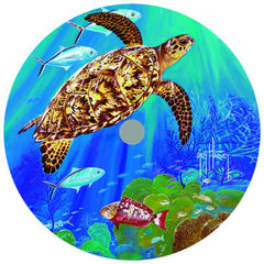 Lazy Susan - Guy Harvey Turtle 14""