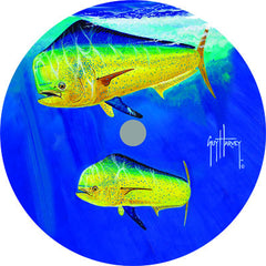 Lazy Susan - Guy Harvey Dorado 14""