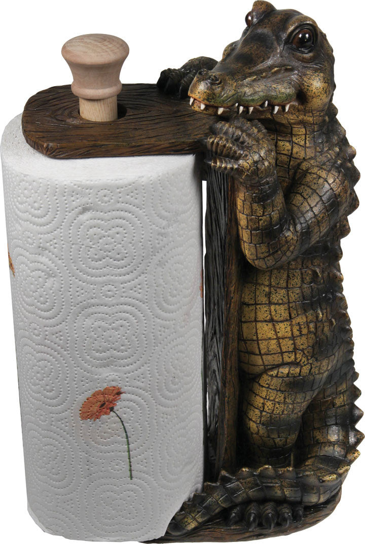Paper Towel Holder - Alligator - GrayGoose Products Limited
