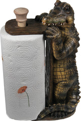 Paper Towel Holder - Alligator