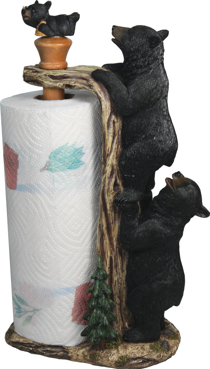 Paper Towel Holder - Bear - GrayGoose Products Limited