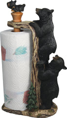 Paper Towel Holder - Bear