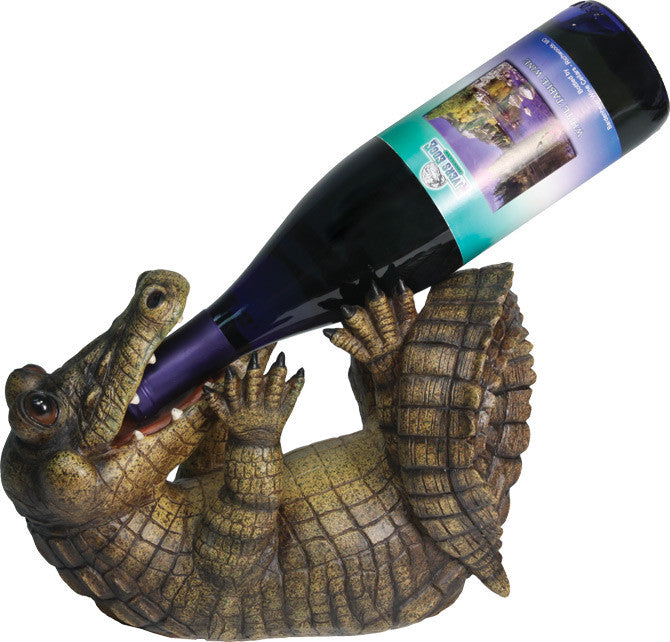 Alligator Wine Bottle Holder - GrayGoose Products Limited