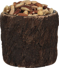 "5"" Dia. x 4.5"" Bark Bowl - GrayGoose Products Limited"