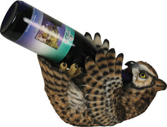 Hoot Owl Wine Bottle Holder