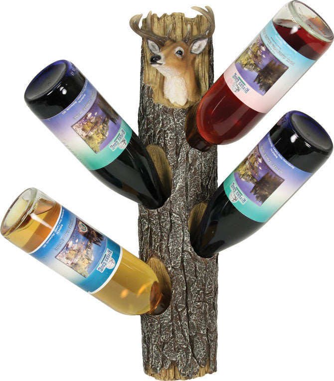 Deer Wall Mount Wine Holder - GrayGoose Products Limited