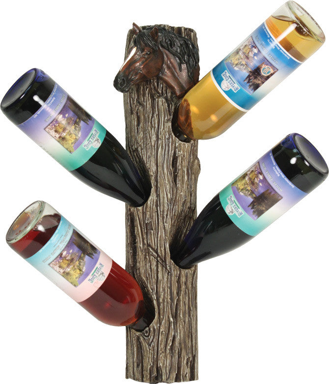 Horse Wall Mount Wine Holder - GrayGoose Products Limited