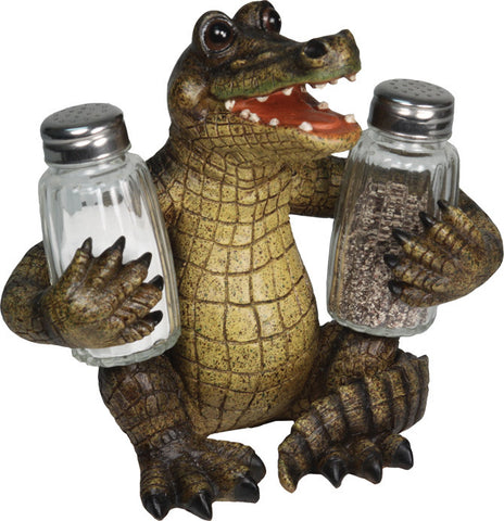 Salt & Pepper Shaker Set - Alligator