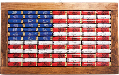 12ga ShotShell American Flag Wall Hang - GrayGoose Products Limited