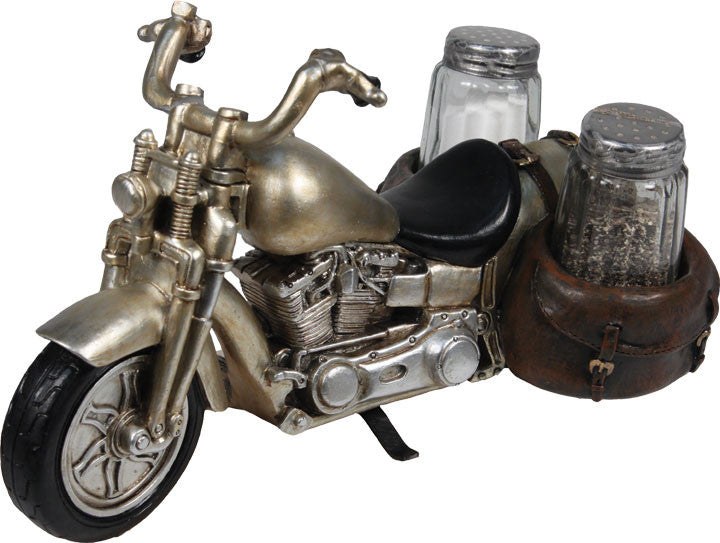 Salt & Pepper Shaker Set - Motorcycle