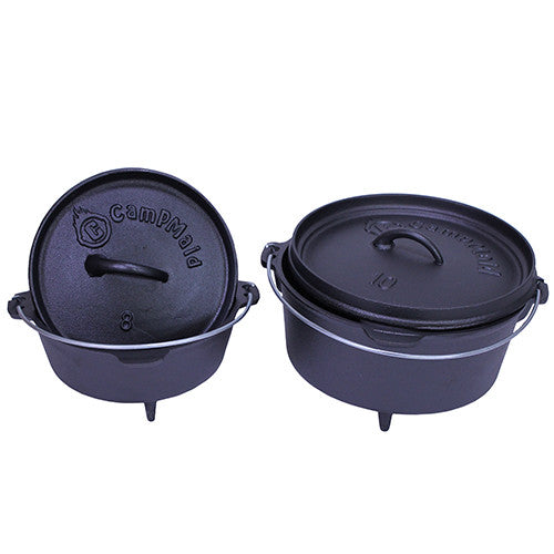 CampMaid Dutch Oven 8