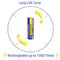 IFR, 14500, lithium phosphate, rechargeable battery, 500mAh, LifePO4
