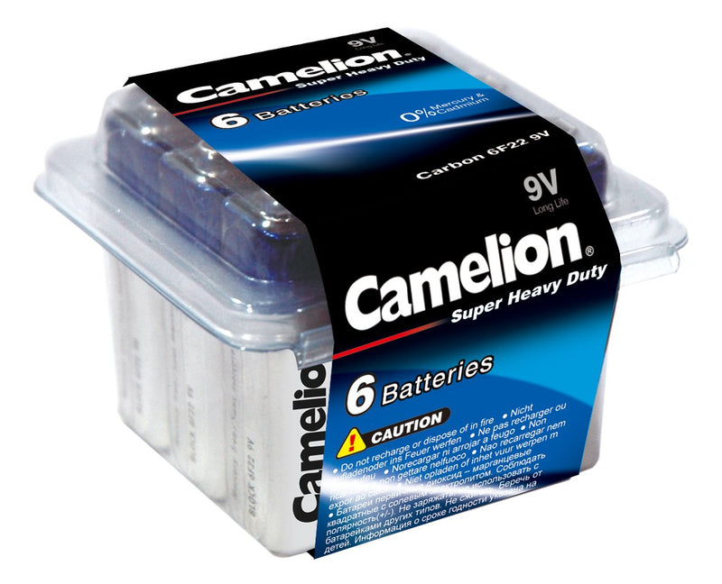 Camelion 9V Super Heavy Duty 6pk