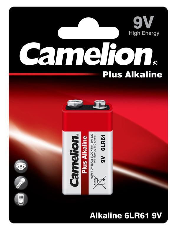 Camelion 9 Volt Plus Alkaline wholesale