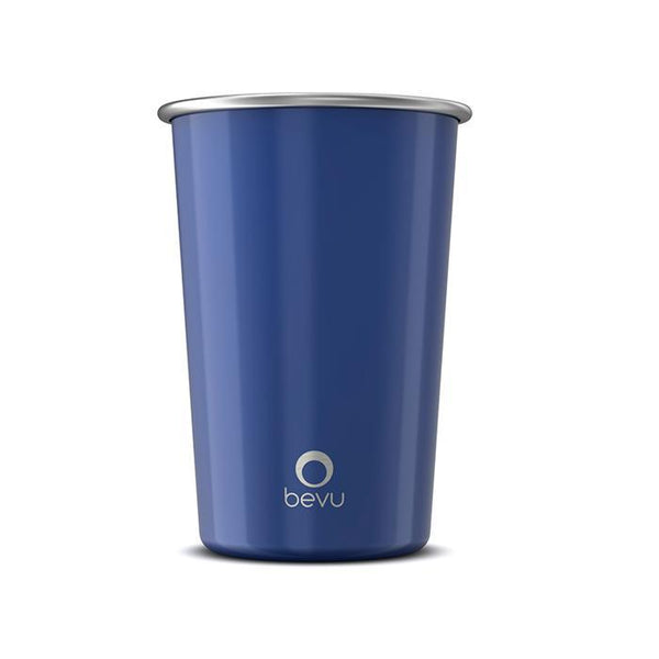 Bevu® Steel Cups Cobalt 470ml / 16oz.