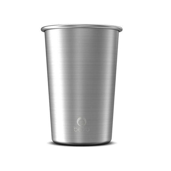Bevu® Steel Cups Silver 470ml / 16oz.