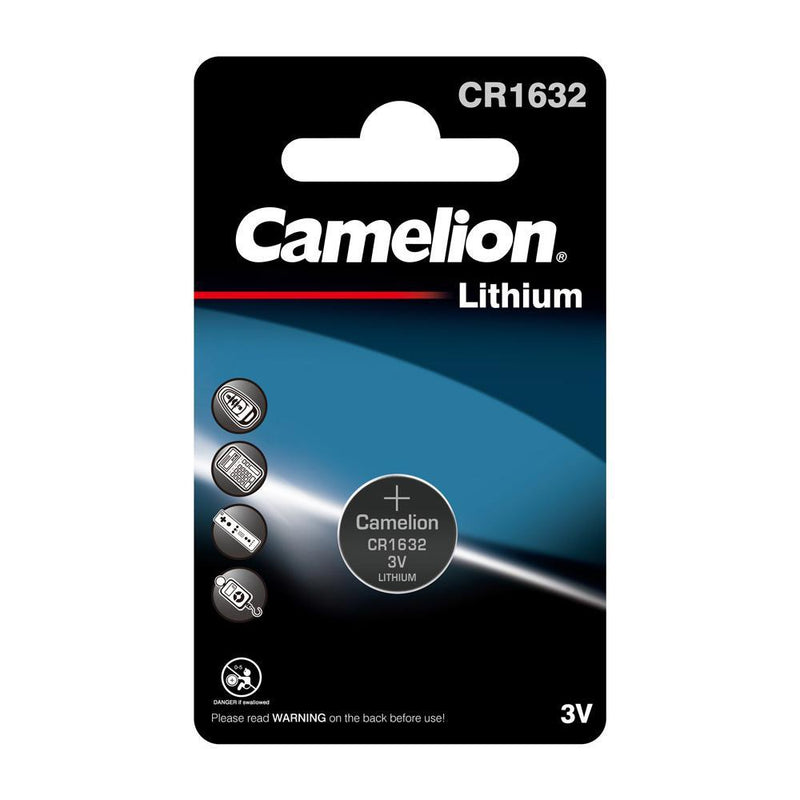 Camelion CR1632 3V Lithium Coin Cell Battery