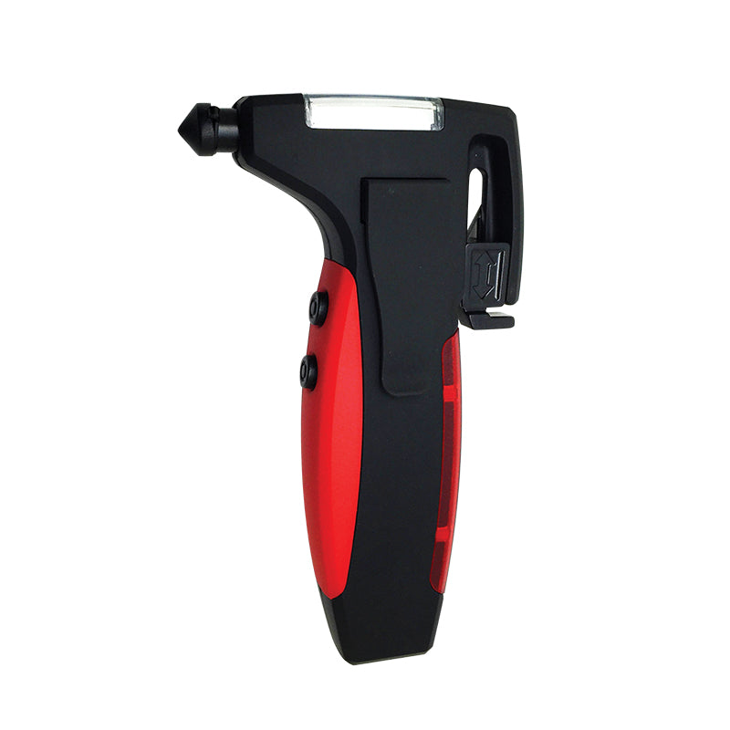 car tool, emergency car tool, emergency light, emergency travel light, seat belt cutter, SOS light, Window Breaker