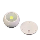 revolution, 360 light, 360 degree light, adjustable light, rotating light, COB LED, cabinet light, closet light, wireless light, battery powered, battery operated, light for small spaces, convenient lighting