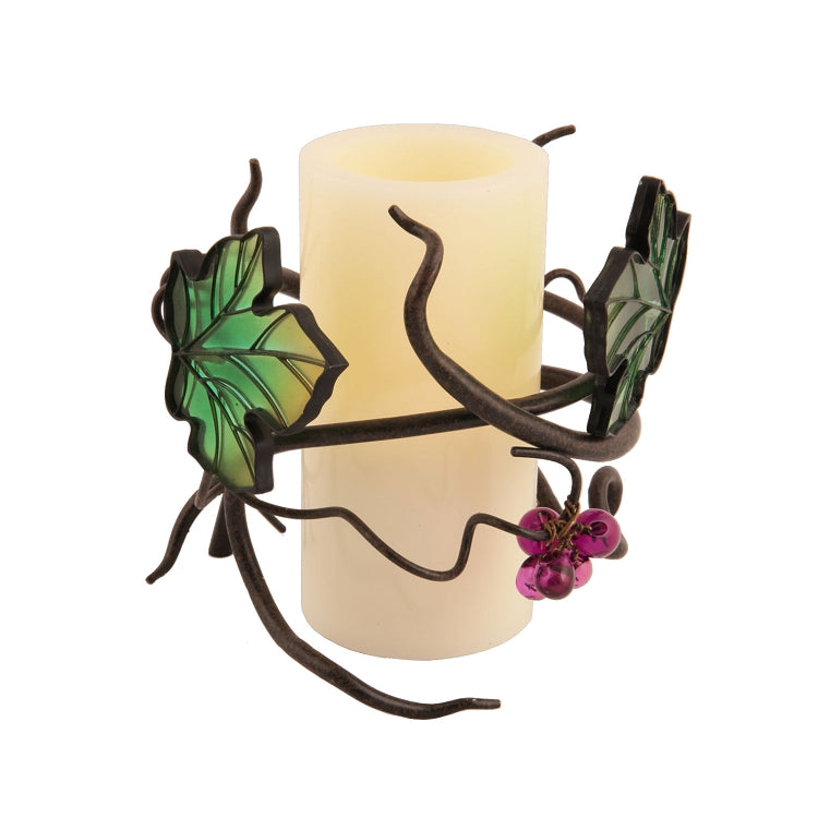 candle holder, candle decor, vine