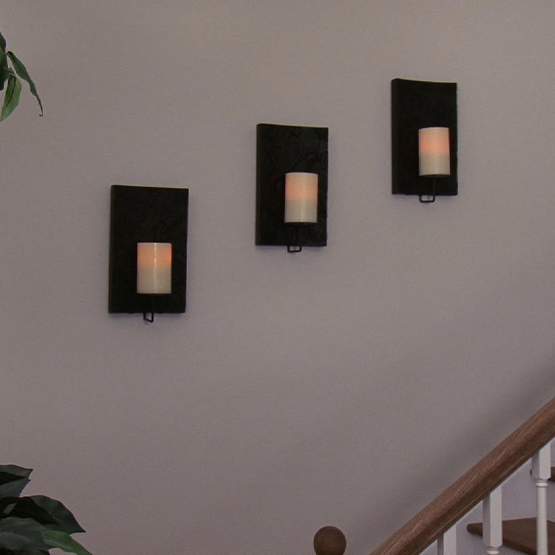 Solstice Flameless Candle Wall Sconce