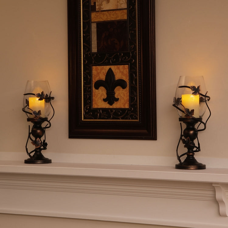 Frazier Vine Flameless Pillar Candle Holder