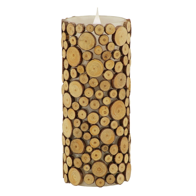 solare, solare 3d, flameless candle, electronic candle, battery powered candle, battery operated candle, wood candle, home decor, indoor decor