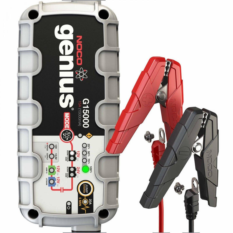 battery charger, battery maintainer, 12V, 24V, jump charger
