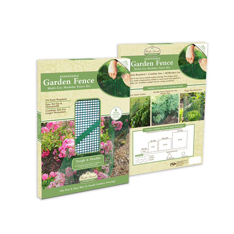 garden, garden tools, garden fence, buildable garden fence, add on garden fence, green garden fence, fence for plants, fence for flowers, fence for veggies, modular, fence system, expandable fence, bendable fence, outdoor fence