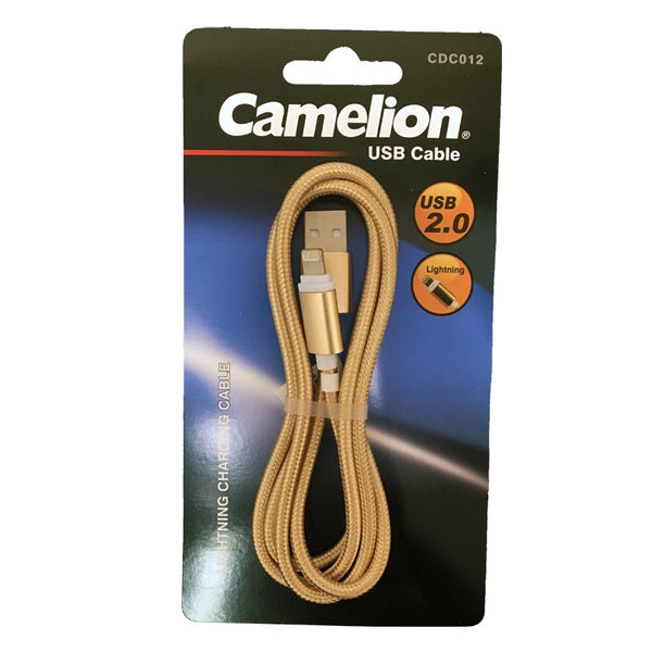 Nylon 3 Foot Lightning USB Charging Cord Blister Pack