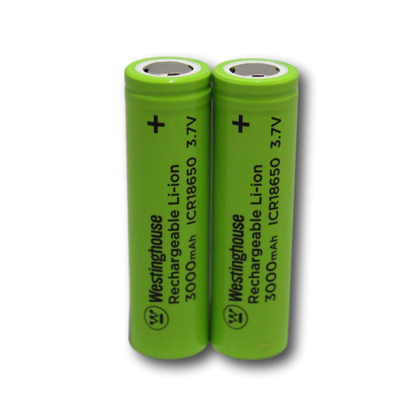 westinghouse, 18650, lithium ion, Li-ion, 3.7V, 3000mAh, 18650 battery